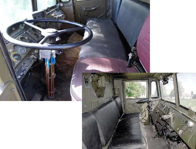 кабина маз 537