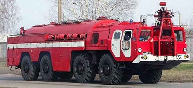 пожарная машина маз 7310